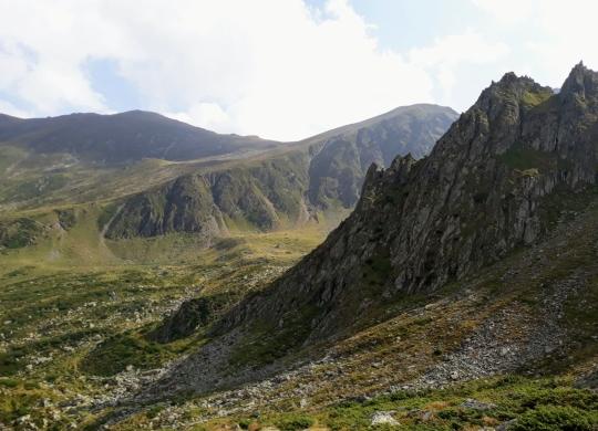 Culmi Fagarasene, in Valea Sambetei