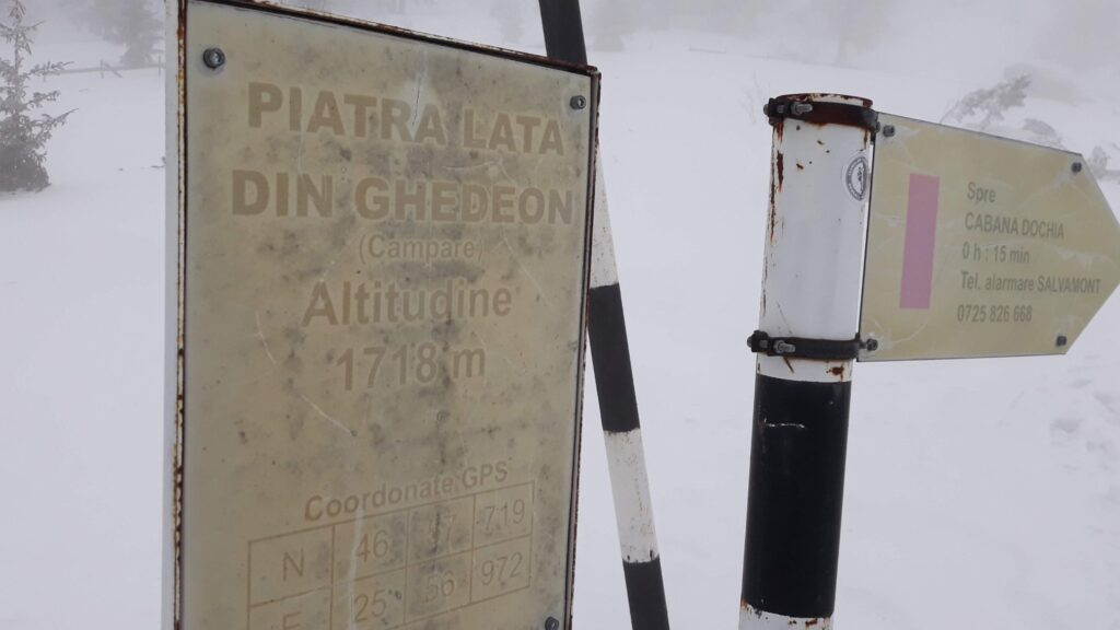 Indicator Piatra Lata din Ghedeon